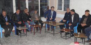 Başkan Gülenç'in Köy Ziyaretleri Devam Ediyor