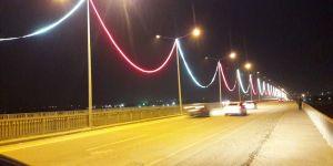 Bismil Köprüsü Gece Işıl Işıl Parlayacak