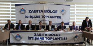 'Zabıta Bölge Toplantısı' Diyarbakır'da yapıldı
