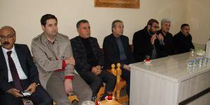 Ak Parti Eker'den Tepe'ye Taziye Ziyareti