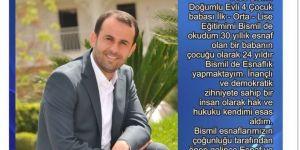 Bismil Esnaf ve Sanatkar Oda Başkan Adayı Hüsamettin Barut Reklam
