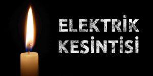 Bismil'de planlı elektrik kesintisi