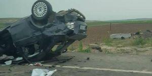 Bismil'de Takla atan otomobildeki 2 kadın hayatını kaybetti