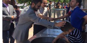 Saadet Partisi Milletvekili adayları esnafları ziyaret ettiler.