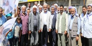Yapıcıoğlu'ndan köylere ziyaret