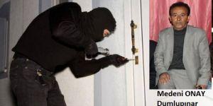 Bismil Mahalle Muhtarının Evine Hırsız Girdi