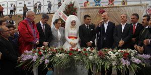 Bakan Soylu Bismil'de Düğüne Katıldı