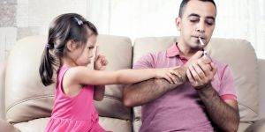 Çocuklar anne babasının aynası gibidir