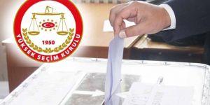 YSK'dan yerel seçim kararları