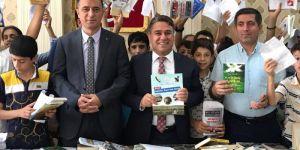 """Bismil Belediyesinden """"Karneni getir, Kitabını Götür"""" Kampanyasına Destek"""