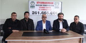 Diyarbakır'daki STK'lar Yemen için seferber oldu