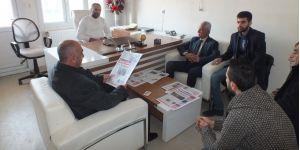 CHP Belediye Başkan Adayı Yılmaz'dan Gazetemize Ziyaret