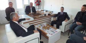 AK Parti Bismil Belediye Başkan adayı Mustafa Kemal Arslan'dan gazetemize ziyaret