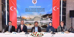 Diyarbakır'da toplum hizmetleri değerlendirme toplantısı yapıldı