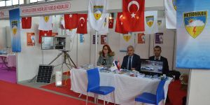 Diyarbakır Meteoroloji Bölge Müdürlüğü tarım fuarında stant açtı