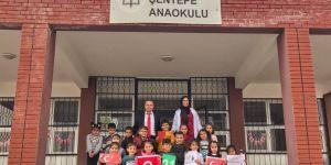 """""""81 İL TEK BAYRAK"""" PROJESİNDE DİYARBAKIR'I TEMSİL EDEN ŞENTEPE ANAOKULU OLDU"""