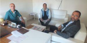 Cumhurbaşkanlığı İletişim Başkanlığı Diyarbakır İl Müdürü Fikret Dişlioğlu gazetemizi ziyaret etti.