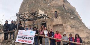 Tepe Dicle Ortaokulu'ndan Kapadokya gezisi