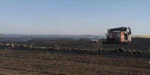 Çiftçilerden hasat yangını uyarısı