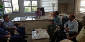 BISTK'ten Bismil İlçe Milli Eğitim Müdürüne Ziyaret