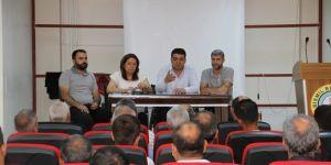 Bismil Belediyesinden Su Sorunu için Muhtarlarla Toplantı