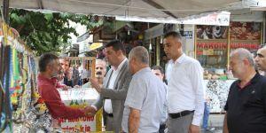 Bismil Belediyesi Kaldırım İşgali İçin Çalışma Başlattı