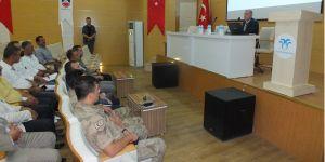 Bismil'de 'Anız Yangınlarının Önlenmesi' Semineri Düzenlendi