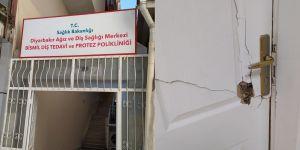Yüzü Maskeli Hırsızlar Bu Sefer Diş Hastanesine Dadandı