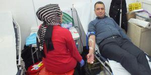 Kaymakam Yüksel Kan Bağışında Bulundu.