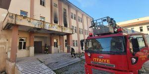 Eski Bismil Devlet Hastane Binasında  Yangın