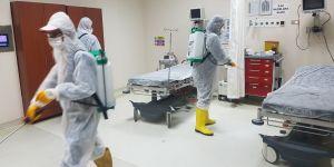 Bismil Devlet Hastanesi dezenfekte edildi