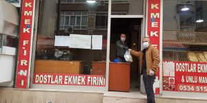 Bismil'de Askıda Ekmek Uygulaması