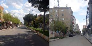Bismil'de sokağa çıkma yasağı sessizliği