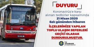 Seferleri kısıtlanan otobüsler  çalışan kesimi zora soktu