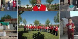 Kızılay Diyarbakır Şubesi'nden muhtaç 250 aileye yardım