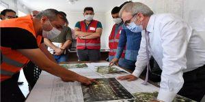Diyarbakır'da yapılan 'Millet Bahçeleri' kentin tarihini yansıtacak