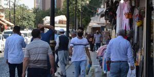 Covid-19 vakalarının arttığı Diyarbakır ve ilçeleri kurallara yeterince uymuyor