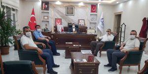 Diyanet Eğitim Camiasından Müftü Durmuş'a Ziyaret