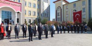 19 Eylül Gaziler Günü münasebetiyle Bismil'de tören yapıldı.