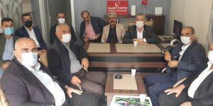 Saadet Partisi Bismil İlçe Başkanlığı İlk Divan Toplantısı gerçekleştirildi.