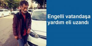 Engelli vatandaşa yardım eli uzandı