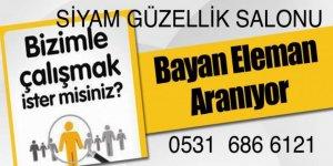 BİSMİL'DE BAYAN ELEMAN ARANIYOR