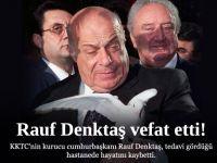 Rauf Denktaş Vefat etti.