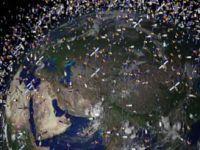 Uzay uydu çöplüğüne döndü