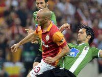 Galatasaray puanla tanışamadı