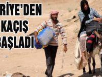 Suriye`den Kaçış Başladı